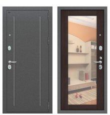 Дверь Bravo T2-220 Антик Серебро/Wenge Veralinga