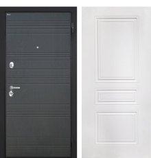 """Дверь Интекрон """"Спарта"""" Венге ФЛ-316/Белая матовая ФЛ-243-М"""