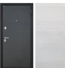 """Дверь Интекрон """"Спарта"""" Венге ФЛ-316/Белый ясень ФЛ-316"""