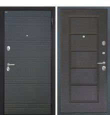 """Дверь Интекрон """"Спарта"""" Венге ФЛ-316/Орех премиум ФЛ-39"""