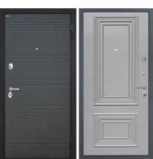 """Дверь Интекрон """"Спарта"""" Венге ФЛ-316/Сан Ремо 2 RAL 7037"""