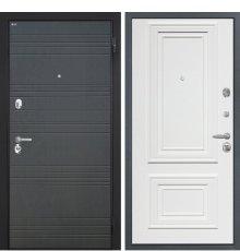 """Дверь Интекрон """"Спарта"""" Венге ФЛ-316/Сан Ремо 1 RAL 9003"""