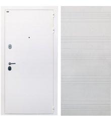 """Дверь Интекрон """"Колизей white"""" Белая шагрень/Белый ясень ФЛ-316"""