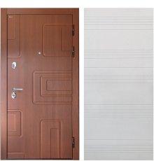 """Дверь Интекрон """"Элит"""" Лиственница кофе/Белый ясень ФЛ-316"""