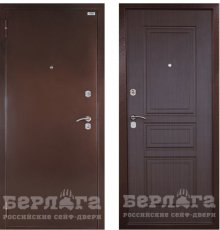 Дверь Берлога Оптима Гаральд Венге структурный кофе фото