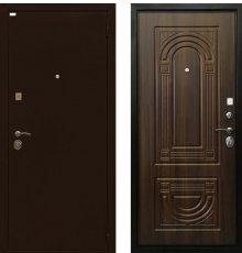 Дверь Ратибор Оптима 3К Орех Бренди