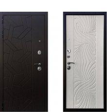 Дверь Ратибор Витраж 3К Лиственница беж