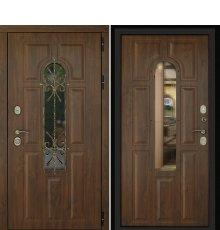 Дверь Лион Темный орех фото