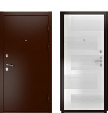 Дверь Luxor-3A 185 Белая Эмаль