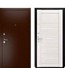 Дверь Luxor-3A ЛУ-22 б. дуб ст. белое