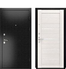 Дверь Luxor-3B ЛУ-22 б. дуб ст. белое