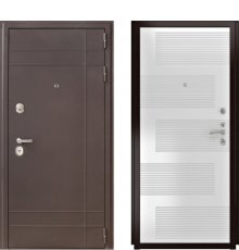 Дверь Luxor-23 185 Белая эмаль