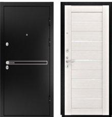 Дверь Luxor-4 ЛУ-22 б. дуб ст. белое