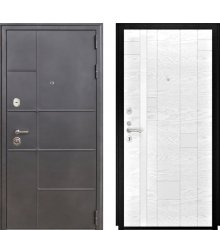 Дверь Luxor-24 Арт-1 бел. яс.