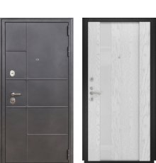 Дверь Luxor-24 Орион-3 дуб бел. эм.