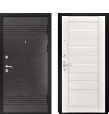 Дверь Luxor-7 ЛУ-22 б. дуб ст. белое