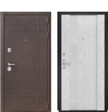 Дверь Luxor-23 Орион-3 дуб. бел. эм.