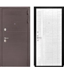 Дверь Luxor-27 Арт-1 Белый Ясень