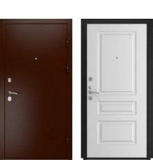 Дверь Luxor-3A Белая эмаль Л-2