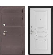 Дверь Luxor-27 Л-1 Белая эмаль