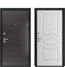 Дверь Luxor-7 Л-1 Белая эмаль