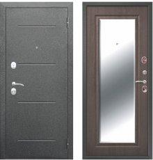 Дверь Цитадель Серебро Зеркало Фацет ВЕНГЕ