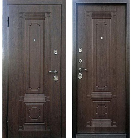 Дверь Персона Техно 3 Грецкий орех фото