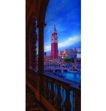 Дверь Цербер с фотопечатью Венеция ДФ-1072