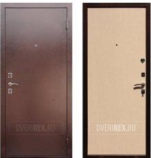 Двери ReX Эконом Беленый дуб фото