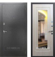 Двери REX 2A Зеркало Беленый дуб