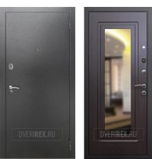 Двери REX 2A Зеркало Венге