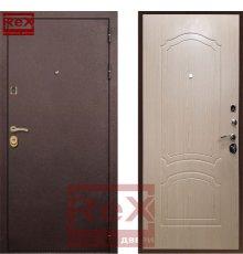 Двери Лайт 3 Беленый Дуб