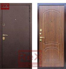 Двери Лайт 3 Орех
