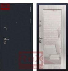 Дверь ReX 5А Зеркало Пастораль Ясень белый