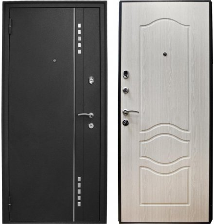 Дверь Voldoor Манхэттен №1 Беленный дуб