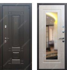 Дверь REX 9 Беленый дуб Зеркало