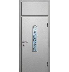 Двери с фрамугой ДФ-4017