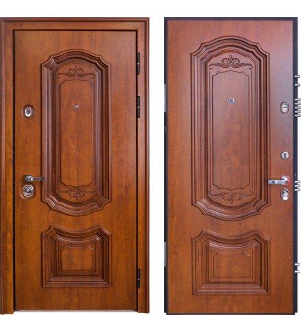 Дверь Профессор 4 02 РР КТ Дуб медовый 5D1 / КТ Дуб медовый 5D1, правая, 880 мм фото