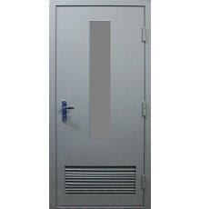 Дверь с вентиляцией ДВ-7014