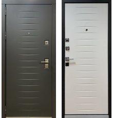 Дверь Персона Гранд-2 Черный софт,белый софт. фото
