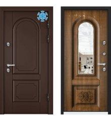 Дверь Торекс SNEGIR 45 PP КОРИЧНЕВЫЙ
