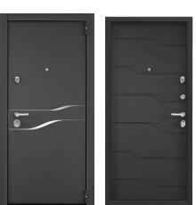 Дверь Торекс СУПЕР ОМЕГА 100 Графитовый муар
