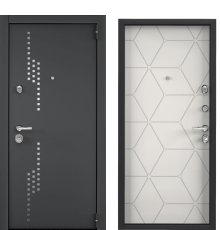 Дверь Торекс СУПЕР ОМЕГА 100 Черный муар металлик RP11