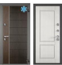 Дверь Торекс SW-C2 RAL 9016 белыйАмериканский орех SNEGIR 100