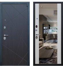 Дверь АСД «Вектор с зеркалом»