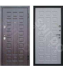Дверь Снедо S01 2К венге/белая лиственница