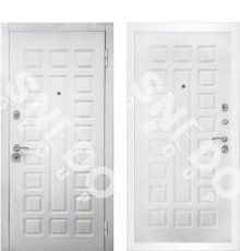 Дверь Снедо S01 2К Альберо браш грей