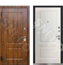 Дверь Снедо V02 2К Темный дуб/Альберо браш браун