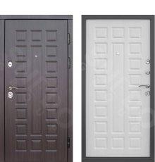 Дверь Снедо S01 3К винорит венге /белая лиственница