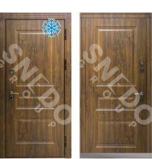 Дверь Снедо Сибирь Термо Премиум темный дуб